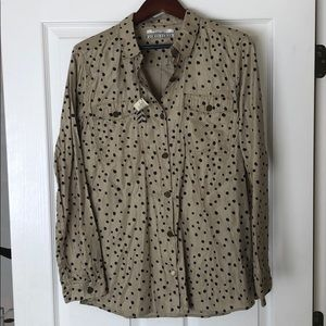 Spotted button down
